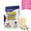 Vistra 3Whey Protein Plus Vitamin Sport Nutrition Vanilla 15 ซองเป็นเวย์ที่มีประสิทธิภาพสูง ดูดซึมง่าย ซึ่งเป็นอีกหนึ่งนวัตกรรมของเวย์ โปรตีน