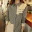 GW5712002 เสื้อเชิ้ตสาวเกาหลี ลายสก็อตเก๋ (พรีออเดอร์)รอสินค้า 3อาทิตย์หลังโอนเงิน thumbnail 1