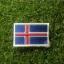 อาร์มปักธงไอซ์แลนด์