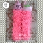 พรมเช็ดมือตัวหนอน ไมโครไฟเบอร์ สีชมพู thumbnail 1