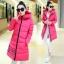 CW5711007 เสื้อโค้ทเกาหลี มีฮูด ซิปหน้า ผ้าผสมขนสัตว์ อบอุ่นมาก (พรีออเดอร์) รอ 3 อาทิตย์หลังโอนเงิน thumbnail 5