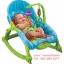 เปลโยกมัลติฟังก์ชั่น &#x2665 Rocking Baby Bouncer Newborn-to-Toddler Portable Rocker (สีฟ้า) thumbnail 1