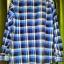 ้เสื้อเชิ๊ตลายสก๊อตสีฟ้า - น้ำตาล ราคา 150 บาท thumbnail 3