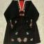 Hanbok (DURUMAGI) โค้ท สำหรับสวมทับชุดฮันบกหญิง ไหมเกาหลีสีดำ ปักมือ thumbnail 1