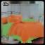 ผ้าปูที่นอนสีพื้น เกรด A สีส้ม ขนาด 6 ฟุต 5 ชิ้น thumbnail 1