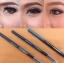 Cosluxe Slimbrow pencil สี นำ้ตาลเข้ม ดินสอเขียนคิ้ว เนื้อฝุ่นอัดแข็ง ช่วยในการแรเงาคิ้งได้อย่างเป็นธรรมชาติที่สุด แท่งหมุนแบบ Auto ไม่ต้องเหลาและ นวัตกรรมหัวเรียวเล็กเพียง 1 mm. ทำให้สามารถ เขียนคิ้วเป๊ะ ปลายเรียวแหลมทุกครั้งที่เปิดใช้งาน สูตร Waterproof thumbnail 2