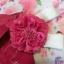 Summer kimono กิโมโนฤดูร้อน (Yukata) Spring Flower สีชมพู รุ่น 1 เซต 6 ชิ้น thumbnail 7