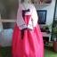 "Luxury Hanbok ฮันบกผ้าไหม รุ่น Pink Je t'aime อก 40"" สูง 167 thumbnail 1"