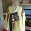 Princess Hanbok แบบชาววัง (ทังอี) สีเหลืองทอง ตัดแดง สวยอลังการ thumbnail 2