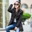 CW5909002 เสื้อโค้ทผู้หญิง ซิปหน้า แต่งเฟอร์ขน เกาหลี(พรีออเดอร์) รอ 3 อาทิตย์หลังโอนเงิน thumbnail 5