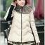 CW5901002 เสื้อโค้ทหญิงตัวสั้นมีฮูดแต่งเฟอร์ขน ซิปหน้าผ้าขนเป็ด(พรีออเดอร์) รอ 3 อาทิตย์หลังโอนเ thumbnail 2