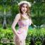 [Size S,M] Daisy set (สีชมพู) ชุดว่ายน้ำ ทูพีทแนววินเทจ thumbnail 2
