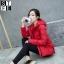 CW5909017 เสื้อโค้ทผู้หญิงหวานเกาหลีตัวสั้นสไตร์เสื้อแจ๊กเก็ต(พรีออเดอร์) รอ 3 อาทิตย์หลังโอนเงิน thumbnail 3