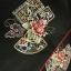 Hanbok (DURUMAGI) โค้ท สำหรับสวมทับชุดฮันบกหญิง ไหมเกาหลีสีดำ ปักมือ thumbnail 5