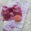 ํYukata กิโมโนฤดูร้อน ดอกไม้หลากสี พิมพ์ทอง thumbnail 1