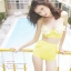 [Size S,M] Daisy set (สีเหลือง) ชุดว่ายน้ำ ทูพีทแนววินเทจ thumbnail 3