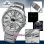 นาฬิกา คาสิโอ Casio Edifice 3-Hand Analog รุ่น EFR-102D-7AV สินค้าใหม่ ของแท้ ราคาถูก พร้อมใบรับประกัน thumbnail 3