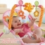 เปลโยก Rocking Baby Bouncer Newborn-to-Toddler Rocker Bunny (สีชมพู) thumbnail 2