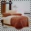 ผ้าปูที่นอนสีพื้น เกรด A สีน้ำตาลเข้ม ขนาด 6 ฟุต 5 ชิ้น thumbnail 1