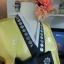 Princess Hanbok แบบชาววัง (ทังอี) สีเหลืองปั๊มเงิน กระโปรงปักมือดิ้นเงิน thumbnail 4