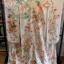 uchikake kimono กิโมโนอูชิคาเคะ สีขาวครีม งานปักดิ้นทอง thumbnail 1