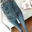 OW5707007เอี้ยมยีนส์ สาวหวานซ่อนเปรี้ยว ขายาว คาบอย แฟชั่นเกาหลี (พรีออเดอร์) thumbnail 1