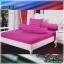 ผ้าปูที่นอนสีพื้น (สีม่วงอ่อน)(พื้นเรียบ) ขนาด 6 ฟุต 5 ชิ้น thumbnail 1