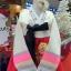 Hanbok เกรด A+++ แบบต่อปลายแขนปักดอกไม้น่ารัก สำหรับคนตัวสูง 170 cm. up thumbnail 2