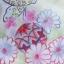 ํYukata กิโมโนฤดูร้อน ดอกไม้หลากสี พิมพ์ทอง thumbnail 4