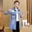 FW6008004 เสื้อแจ็กเก็ตยีนส์ยาวการ์ตูนแขนยาวคอปกแฟชั่นเกาหลี (พรีออเดอร์) รอ 3 อาทิตย์หลังโอน thumbnail 3