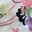 Summer kimono กิโมโนฤดูร้อน (Yukata) Spring Flower สีชมพู รุ่น 2 เซต 2 ชิ้น thumbnail 4