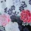 ํYukata กิโมโนฤดูร้อน ลายดอกไม้สีม่วงแดง พิมพ์ทอง thumbnail 3