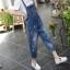 OW6003001 เอี้ยมยีนส์ผู้หญิงผ้ากันเปื้อนขาจั้ม ฤดูร้อน (Pre-order) thumbnail 3