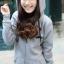 KW5808002 เสื้อกันหนาวมีฮูด ผ้าผสมขนสัตว์สาวเกาหลี (พรีออเดอร์) รอ 3 อาทิตย์หลังชำระเงิน thumbnail 2