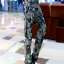 HW5906012 กางเกงทหารหญิงทรงหลวมสีเขียวกองทัพลายพราง (พรีออเดอร์) รอ 3 อาทิตย์หลังโอนเงิน thumbnail 4