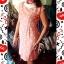 Dress สั้นสีส้มลายจุดน่ารัก ราคา 150 บาท thumbnail 1