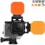 FLIP6 and FLIP5 Three Filter Kit with SHALLOW, DIVE & DEEP Filters เป็น Red Filter สำหรับกล้อง GoPro Hero5 Black, 4, 3, 3+ และ Hero6 Black thumbnail 1