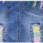 BW6005005 เอี้ยมกระโปรงยีนส์สั้นดินสดป้ายสีคาบอยเกาหลี (พรีออเดอร์) รอสินค้า 3 อาทิตย์หลังโอนเงิน thumbnail 6