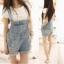 OW5711005 เอี้ยมยีนส์สาวเกาหลี คาบอยน่ารัก (พรีออเดอร์) รอสินค้า 3 อาทิตย์หลังโอนเงิน thumbnail 1