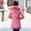 CW5810009 เสื้อโค้ทกันหนาวตัวยาวมีฮูด ผ้าฝ้ายผสมขนสัตย์(พรีออเดอร์) รอ 3 อาทิตย์หลังโอนเงิน thumbnail 2