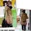 KW5801002 เสื้อคลุมกันหนาวสาวเกาหลี มีฮูด(พรีออเดอร์) รอ 3 อาทิตย์หลังโอน thumbnail 1