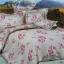 ผ้าปูที่นอนลายดอกไม้ ใบไม้ ผลไม้ เกรด A ขนาด 6 ฟุต(5 ชิ้น)[AF-03] thumbnail 1