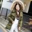 CW5909002 เสื้อโค้ทผู้หญิง ซิปหน้า แต่งเฟอร์ขน เกาหลี(พรีออเดอร์) รอ 3 อาทิตย์หลังโอนเงิน thumbnail 2