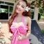 (SizeM) ชุดว่ายน้ำ วันพีช ชุดลายจุดสีชมพู Bikini_sp_005 thumbnail 1