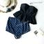 [free size]ชุดว่ายน้ำ บราเต็มตัวสีดำระบายล่าง ตะขอหลัง Bikini_st_01 thumbnail 2
