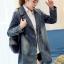 FW6008015 เสื้อแจ็กเก็ตยีนส์ผู้หญิงเกาหลีคอปกสูทตัวสั้นแขนยาว แฟชั่นเกาหลี (พรีออเดอร์) thumbnail 5