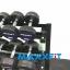 ชุดดัมเบล MAXXFiT ขนาด 2.5 - 25 KG. (10 คู่) พร้อมชั้นวาง 3 ชั้น สีดำ thumbnail 6