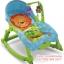 เปลโยกมัลติฟังก์ชั่น &#x2665 Rocking Baby Bouncer Newborn-to-Toddler Portable Rocker (สีฟ้า) thumbnail 2