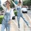 OW6002001เอี้ยมกางเกงยีนส์ขายาวผู้หญิงเกาหลี (พรีออเดอร์) รอสินค้า 3 อาทิตย์หลังโอนเงิน thumbnail 1