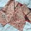 Antique Obi โอบิ ผ้าไหมญี่ปุ่น สีส้มแดง ดิ้นทอง thumbnail 5